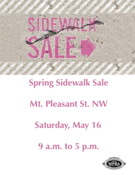 16 May 09 Mt. Pleasant Sidewalk Sale