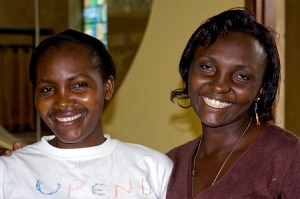 Zipporah & Rahab from the Kenya center